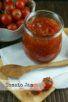 Authentic Suburban Gourmet: Tomato Jam + Cheese Plate   Friday Night Bites