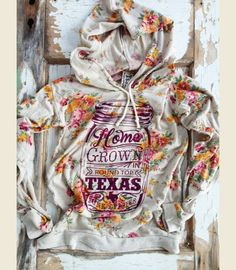 I REALLY want this sweatshirt FLORAL HOMEGROWN - Junk GYpSy co.