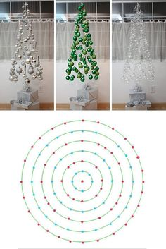 Arbol de Navidad flotante/ Floating Christmas Tree Really like a couple of the I tried this examples tooFloating Xmas tree DIY with templatedo not make if there are pets (cats) or children (babies and toddlers) in the house!Письмо more Pins for Diy Christmas Tree, Xmas Tree, Christmas Projects, Christmas Holidays, Christmas Ornaments, Invisible Christmas Tree, Creative Christmas Trees, Alternative Christmas Tree, Christmas Quotes