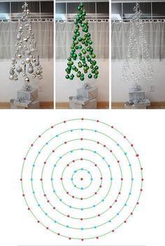 Arbol de Navidad flotante/ Floating Christmas Tree #design: