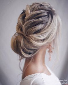 Tonya Pushkareva Long Wedding Hairstyles and Updos – Page 2 – Hi Miss Puff #weddinghairstyles