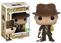 Funko announcing their 2016 SDCC exclusives wave eight: Indiana Jones - Indy with Idol