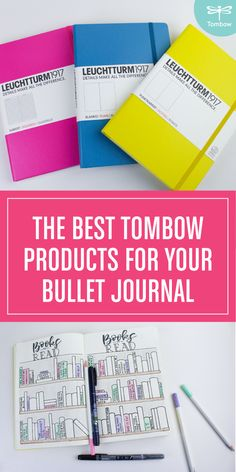 The best @tombowusa products for your bullet journal