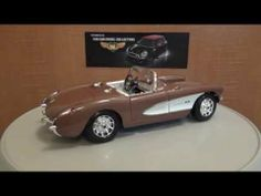 Chevrolet Corvette 1957 Diecast review
