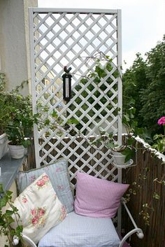 Great for privacy... grow flowers up it, or climbing veggies like green beans, tomatoes etc ...