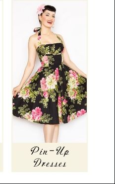 Unique Vintage clothing - love pinup dresses...most flattering style ever ;)
