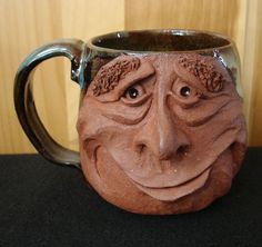 Weird Coffee Mug Design | Mug designs with faces