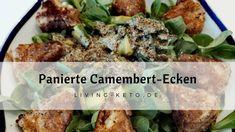 Panierte Camembert-Ecken: Schnell zubereitet, passend zu Salat, Beerensauce, als Vorspeise oder als Knabbersnack zum Filmeabend. Bombastisch lecker!