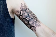 #geometric #tattoo #arm #mandala
