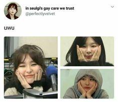 MY LOVEEEEEEEE Blackpink Memes, Day6, Kang Seulgi, Mamamoo, Red Velvet, Got7, Bias Wrecker, Kpop, Velvet