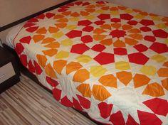 mandala quilt project on Craftsy.com