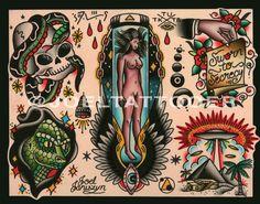 Traditional UFO / Alien / Extraterrestrial by JoelJaniszynHandmade