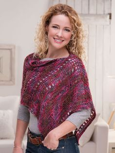 Pretty Tunisian Topper crochet pattern from Annie's Craft Store. Order here: https://www.anniescatalog.com/detail.html?prod_id=143039&cat_id=468
