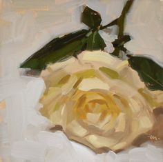 Carol Marine's Painting a Day: Lie to Me, Rose - SOLD