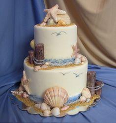 Beach cake I love this!
