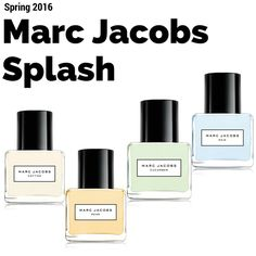 Marc Jacobs Splash Returns for Spring 2016 | http://www.musingsofamuse.com/2016/01/marc-jacobs-splash-returns-for-spring-2016.html