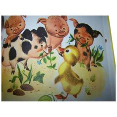 A Golden Book The Fuzzy Duckling by Jane Werner from victoriasjems on Ruby Lane