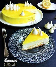 Sablés, Lemon cursus, Meringue, Mousse citron, Miroir jaune
