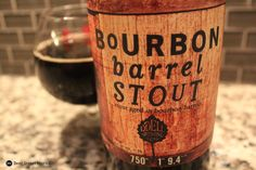 2011 Odell Brewing Bourbon Barrel Stout. Imperial stout aged in Woodford Reserve barrels. 11.5%