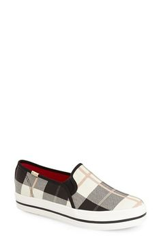 Free shipping and returns on Keds® for kate spade new york 'decker' slip-on sneaker (Women) at Nordstrom.com. A platform sole and crisp plaid finish provide perfectly preppy updates for a favorite Keds slip-on.