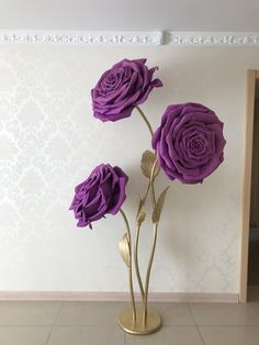 Flowers Discover Large paper flowers for the photo zone. Giant flowers for wedding decoration. Large Paper Flowers, Paper Flowers Wedding, Crepe Paper Flowers, Paper Flower Backdrop, Giant Paper Flowers, Large Flowers, Creation Deco, Baby Room Decor, Rose Wedding