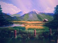 """Saatchi Art Artist rich mckinney; Painting, """"The Valley"""" #art"""
