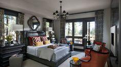 SW - IMG - HGTV Dream Home 2014 Master Bedroom. Duck White and Black Fox