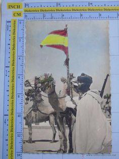 Postales: POSTAL PROTECTORADO AÑOS 50. SAHARA ESPAÑOL AAIUN. TROPAS DE POLICÍA NOMADA. MILITAR 11 PORRAS. 311 - Foto 1 - 54019094