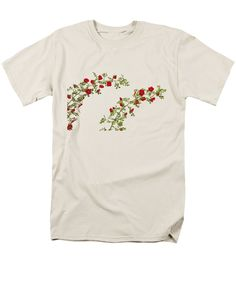 Purchase an adult t-shirt featuring the image of Waves Of Roses 2 by Sverre Andreas Fekjan.  Available in sizes S - 4XL.  Each t-shirt is printed on-demand, ships within 1 - 2 business days, and comes with a 30-day money-back guarantee.