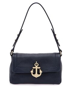 "Some of you have to get in on this: Juicy Couture ""Leni"" Leather Mini Shoulder Bag"