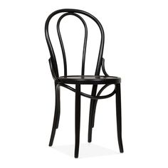 Cult Living Thonet Style Bistro Wooden Dining Chair - Black - Clearance Sale