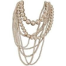 pearl jewellery necklace designs - Google Search