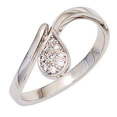 Dreambase Damen-Ring 9 Diamant-Brillanten 14 Karat (585) ... https://www.amazon.de/dp/B00N5C4WBS/?m=A37R2BYHN7XPNV