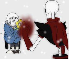 [Undertale x Underfell] n-nope. no human here by Sallaria