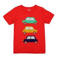 Sale 26% (5.99$) - 2015 New Little Maven Lovely Car Baby Children Boy Cotton Short Sleeve T-shirt Top