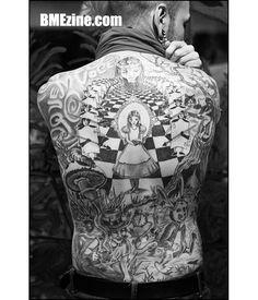 Ink in Wonderland: 25 Mad Alice in Wonderland Tattoos