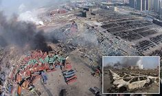 Was stored cyanide to blame for Tianjin warehouse explosion in China? | Daily Mail Online