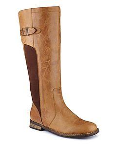 ff84a0377514 Legroom Boot E Fit Curvy Calf Width at Simply Be Calves