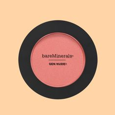 Bare Minerals Gen Nude Powder Blush There's a fine line between a rosy glow and clown cheeks. Luckily, this blush — which comes in a dozen, amped-up pink and peach hues — delivers only the former. You basically can't overdo it. Mac Matte Lipstick, Mac Lipsticks, Eyeshadow Palette, Lip Gloss, Blush Makeup, Beauty Makeup, Eye Makeup, Makeup Kit