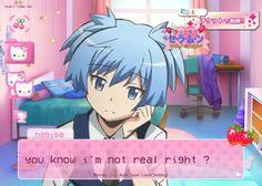 Anime Demon, Anime Manga, Emo Princess, Nagisa Shiota, Dating Simulator, Assasination Classroom, Im Losing My Mind, Gothic Anime, Kawaii