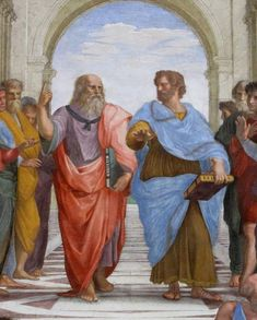 The School of Athens by Raphael Renaissance Ancient Greece Print Poster 40x30