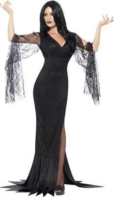 I don't know why i don't have a morticia addams dress in my closet