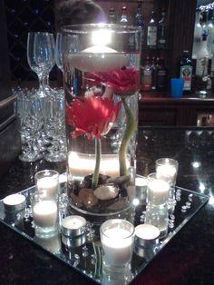 Gerbera Daisy Centerpiece, Toni's Bloomers