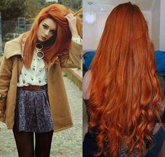 cabelos natural ruivo - Pesquisa Google