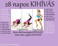 30 napos guggolás kihívás - Google keresés Thigh Exercises, Trx, Gym Time, Perfect Body, Pilates, Cardio, Healthy Life, Thighs, Health Fitness