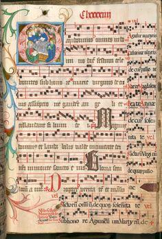 Missale, cum notis musicis et cum figuris literisque pictis Berthold Furtmeyr Clm 23032 [Regensburg], Ende 15. Jahrhundert Folio 194