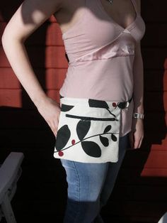 my take on the non-ugly hip purse (first sewing post!Pic heavy) *Tutorial added* - PURSES, BAGS, WALLETS