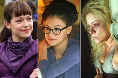 Here's How Orphan Black Transforms Tatiana Maslany Into a Cast of Clones   Vanity Fair - What an AWESOME article.  If you've not seen Orphan Black it's totally worth a watch!  This actress is amazing to say the least! Not to mention the talented makeup and hair team!