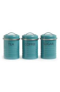 vintage-inspired storage canisters