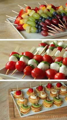 simple and beautiful finger food...little appetizers #appetizers